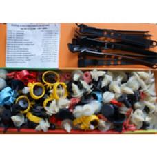 Комплект крепежа  ВАЗ 2108,2109,21099 завод