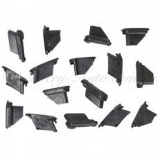 Комплект крепления молдинга окна ВАЗ (16шт)