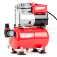 Компресcор безмасляный 4 л, 0,3 кВт, 220 В, 3,2атм, 50л / мин INTERTOOL PT-0001
