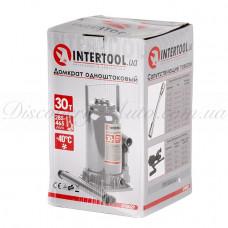 Домкрат столбик одноштоковый 30т INTERTOOL GT0029
