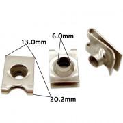 Металлический крепёж для иномарок